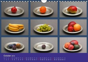 Food / UK-Version (Wall Calendar 2015 DIN A4 Landscape)