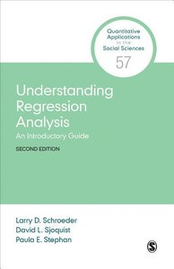 Schroeder, L: Understanding Regression Analysis