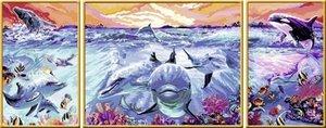 Ravensburger 28954 - Farbenfrohe Unterwasserwelt, MNZ, Malen nac