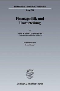 Finanzpolitik und Umverteilung