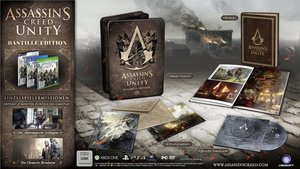 Assassinss Creed Unity - Bastille Edition (Jumbo Steelcase)