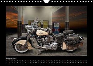 Pohl, M: Motorrad-Träume - Chopper und Custombikes (Wandkale