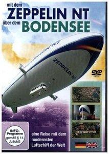 Mit dem Zeppelin NT über dem Bodensee