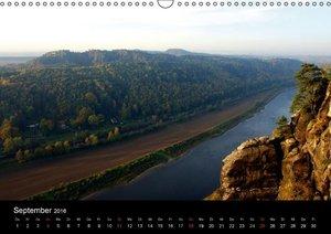 Die Bastei (Wandkalender 2016 DIN A3 quer)
