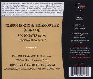 Sechs Sonaten op.91