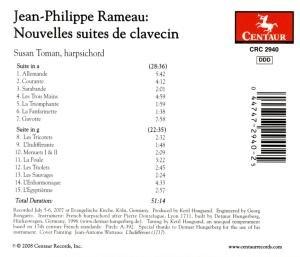 Nouvelles Suites De Clavecin