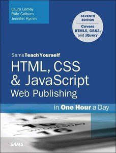 Sams Teach Yourself Web Publishing with HTML5 and CSS3 in One Ho