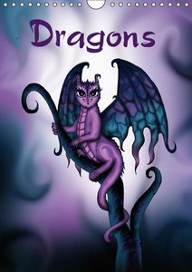 Dragons / UK-Version (Wall Calendar 2015 DIN A4 Portrait)