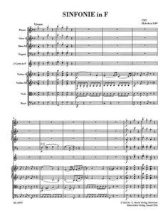 Sinfonie F-Dur Hob. I:89
