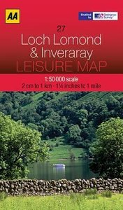 Leisure Map WK 27 Loch Lomond 1 : 50 000