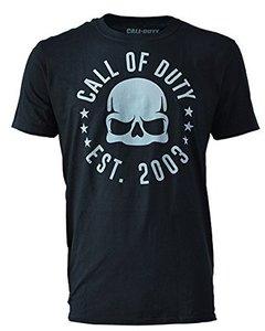Call of Duty - Skull Tour - T-Shirt - Größe XL, schwarz