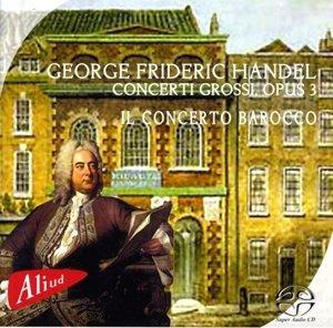 Händel Concerti Grossi op.3 Sa-CD