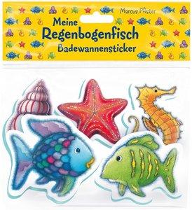 Der Regenbogenfisch Badewannensticker