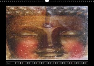 Buddha Harmony and Relaxation/UK-Version (Wall Calendar