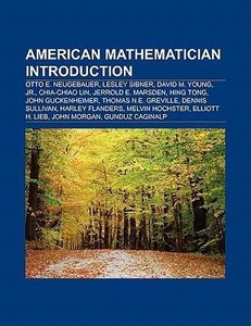 American mathematician Introduction