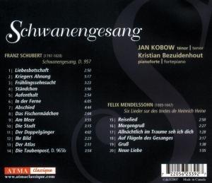 Schwanengesang/Mendelssohn: Lieder (Heine)
