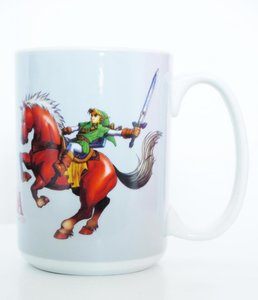 Zelda - Ocarina of Time - Tasse 320ml (Grau)