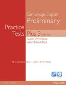 Practice Tests Plus PET 3. New Edition. Book (with Key) and Mult