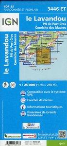 Le Lavandou - PNR de Port Cros - Corniche des Maures 1 : 25 000