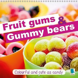 Fruit gums and gummy bears: Colourful and cute as candy (Wall Ca