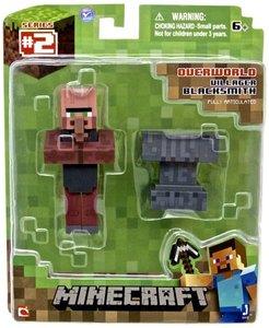 Minecraft - VILLAGER BLACKSMITH mit Amboss, bewegliche Sammelfig