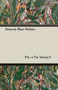 Sonnets Pour Helene