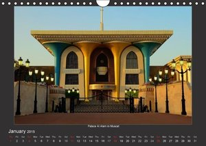 Magical Oman UK Version (Wall Calendar 2015 DIN A4 Landscape)