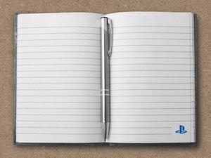 PlayStation - Notizbuch, Hardcover, 96 Seiten (Offiziell lizensi