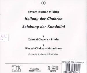 Heilung Der Chakren-Zentral/Wurzel