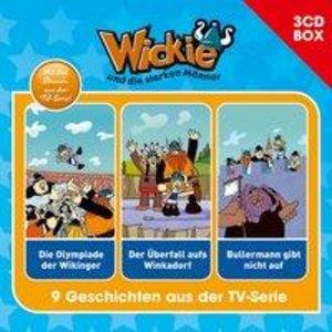Wickie Wickie - 3-CD Hörspielbox Vol. 3