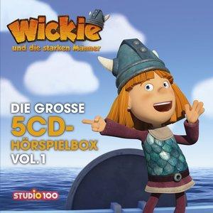 Wickie (Cgi)-Die Große 5-CD Hörspielbox Vol.1