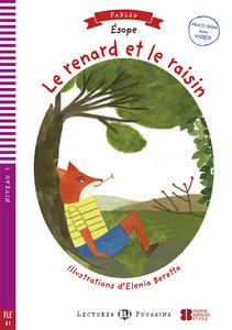 Le renard et les raisins. Buch + Multi-ROM