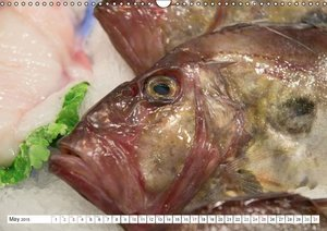 Emotional Moments: Fresh Fish from the Market. / UK-Version (Wal