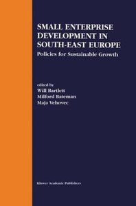 Small Enterprise Development in South-East Europe