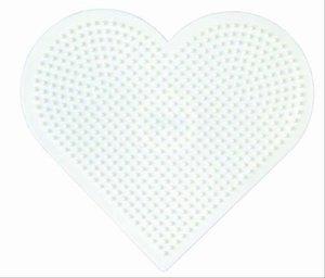 Hama 233 - Stiftplatte großes Herz, 17 x 15 cm