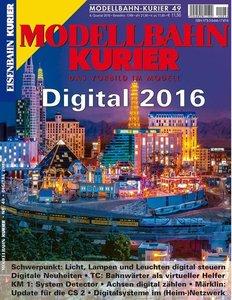 Modellbahn-Kurier 49 Digital 2016