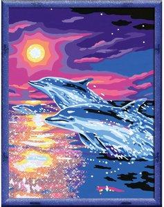 Ravensburger 28202 - MnZ: Delfine im Sonnenuntergang