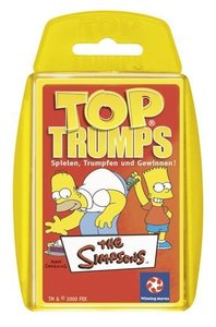 Winning Moves win 60031 - Top Trumps: Die Simpsons