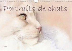 Portraits de chats (Calendrier mural 2015 DIN A4 horizontal)