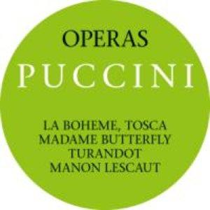 Puccini: Opern-Operas.(Gesamt-Complete)