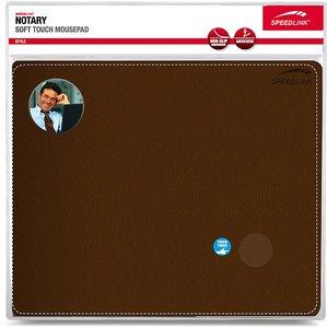 Speedlink SL-6243-LBR NOTARY Soft Touch Mousepad, braun