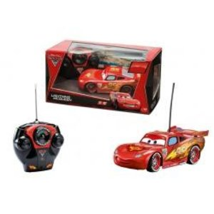 Dickie 203089501 - Cars 2: RC Lightning McQueen, rot