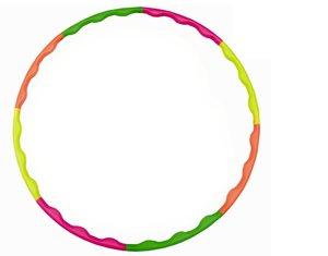 HUDORA Reifen Hula Hoop, grün,orange,gelb,pink