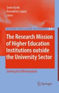 The Research Mission of Higher Education Institutions outside th