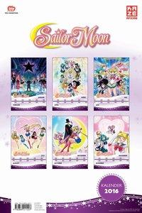 Sailor Moon - Wandkalender 2016
