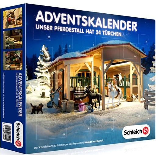 Weihnachtskalender Schleich Pferde.Schleich 97020 Adventskalender Pferde Weihnachten