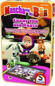 Mascha und der Bär, Chaos vor der Party