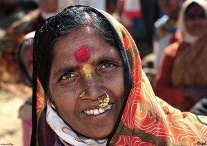 Indien Gesichter (Posterbuch DIN A4 quer)
