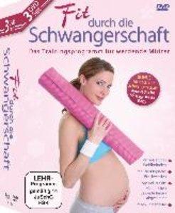 Fit durch die Schwangerschaft Set 3 DVDs
