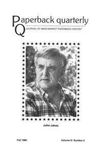 Paperback Quarterly (Vol. 3 No. 3) Fall 1980